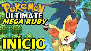 Pokémon Ultimate Mega Ruby (Hack Rom) - O Início - YouTube