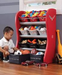 Step2 Corvette Room Organizer For Kids Red 824000 Toys 4 You