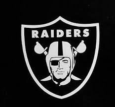 Oakland Raiders Sticker Cut Out Vinyl Decal For Car Vehicle Window Door Bumper Ebay
