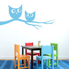 Owls On Branch Wall Decal Home Decor Wall Decals