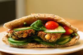 subway en shawarma sandwich