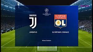 JUVENTUS vs LYON - UEFA Champions League 7 August 2020 - PES 2020 ...
