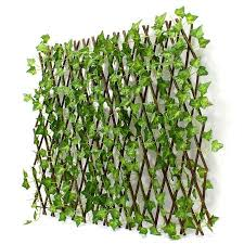 Expandable Artificial Faux Ivy Leaf Hedge Panel Privacy For Garden Fence Screen Walmart Canada