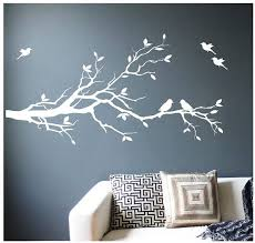 Large Tree Branch Wall Decal Deco Art Sticker Mural With 10 Etsy Wall Murals Diy Family Tree Wall Painting Family Tree Mural