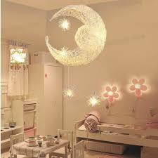 Moon Star Children Kid S Child Bedroom Pendant Lamp Chandelier Light Ceiling For Sale Online Ebay