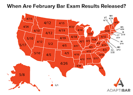 february 2020 bar exam results released
