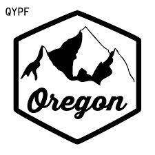 Qypf 16 8cm 17 8cm Oregon Mountains So Funny And Beautiful Vinyl Car Sticker Vivid Window Decal C18 0301 Car Stickers Aliexpress