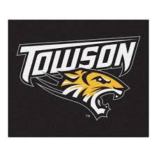Fanmats Ncaa Towson University Black 5 Ft X 6 Ft Area Rug 4672 The Home Depot