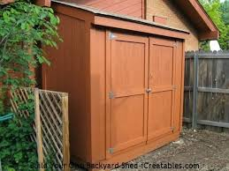 garden storage shed plans 2020
