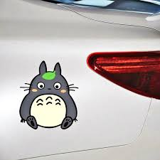 Volkrays Cartoon Cute Totoro Car Tickers Decal Car Accessories For Ford Mondeo Mk4 Focus 2 3 C Max S Max Ranger Kuga Transit Car Stickers Aliexpress
