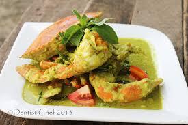 Green Curry Crab Recipe Thai Authentic ...