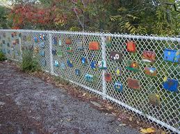 November 2010 Outdoor Wall Art Fence Art School Art Projects