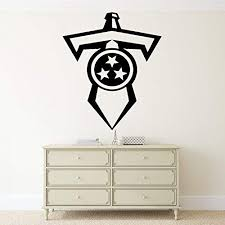 Amazon Com Nfl Football Team Tennessee Titans Vinyl Decal Wall Sticker Emblem Logo Sport Poster Home Interior Removable Decor Kitchen Dining