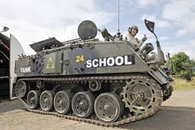 Hilda's dream comes true after finally getting to drive a tank at ...