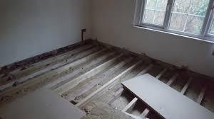 levelling wooden floors