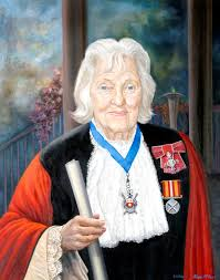 Councillor Hilda Kathleen ('Kathy') Johnson, Mayor of Southampton ...