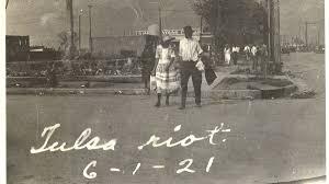 "The Tulsa race massacre at ""Black Wall ..."