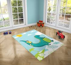 Dinosaur Love Pvc Carpet Print Kids Room Decor Boys Etsy