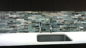 zumi glass mosaic backsplash complete