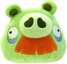 Amazon.com: Angry Birds Plush 5-Inch Grandpa Pig with Sound: Toys ...
