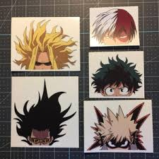 Anime Decal Etsy
