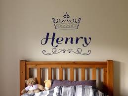 Amazon Com Vinyl Sticker Henry Name Boy Font Type Kids Room Nursery Mural Decal Wall Art Decor Eh565 Handmade