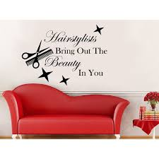 Shop Hairstylists Bring Out The Beauty In You Wall Decal Quote Beauty Salon Wall Art Sticker Decal Overstock 11930456