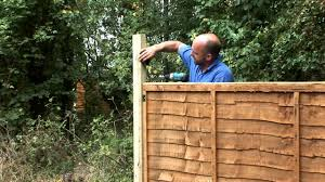 How To Fix Trellis On Top Of Fence Panels Youtube