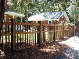 Arts And Crafts Fence Patio Fence Front Yard Decor Fence Design
