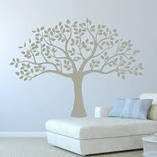 Amazon Com Tree Wall Decal Vinyl Decor Sticker Use For Decorating Living Room Or Bedroom At Home Office Nursery Nature Scene Wall Art Handmade