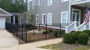 Residential Metal Fences Ga Fence Company Natural Enclosures