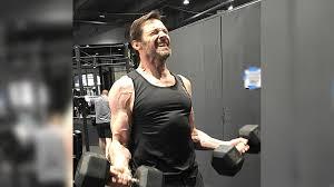 hugh jackman logan workout لم يسبق له