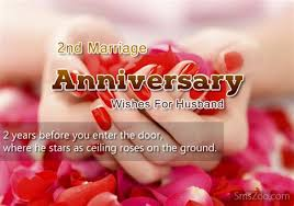 second wedding anniversary quotes husband