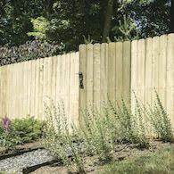 Severe Weather Actual 5 Ft X 8 Ft Pressure Treated Spruce Pine Fir Dog Ear Wood Fence Panel At Lowes Com 5ft 8ft En 2020 Cloture Jardin Bois Cloture Jardin Jardins