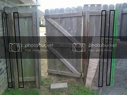Next Project Double Wooden Fence Gate Polk Audio