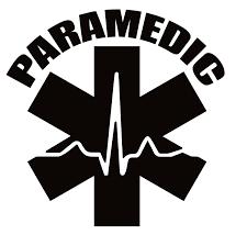 Emt Paramedic Decal Emt Paramedic Sticker 7148