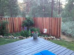 What Is Best Sealant Or Transparent Stain For Redwood Fence