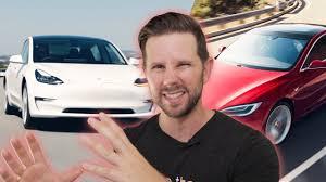 Tesla Model 3 (New) vs Model S (Used ...