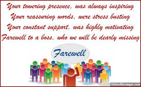 farewell messages for boss goodbye quotes for boss farewell