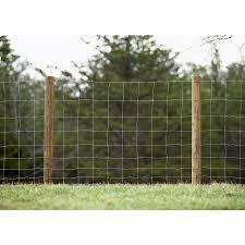 Sierra High Tensile Field Fence 330 Ft X 4 Ft Silver Steel Woven Wire Farm Woven Wire Rolled Fencing In The Rolled Fencing Department At Lowes Com
