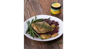 Zesty Halibut And Green Beans Recipe by ...