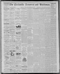 The Circleville Democrat and watchman. (Circleville, Ohio), 1879-09-26 page  1 - Circleville Democrat and Watchman -