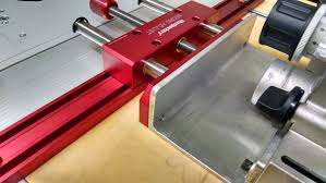 Cms Router Table Fence Improvements Micro Adjust Using Crown Stop Updated