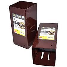 1 X 100mm X 100mm 4 X 4 Fence Post Extender Amazon Co Uk Diy Tools