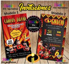 Invitacion Digital Los Increibles 150 00 En Mercado Libre