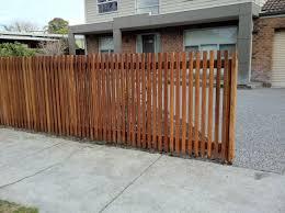 Narrow Timber Battens As Fencing Idea Timber Battens Fence Design Outdoor Gardens