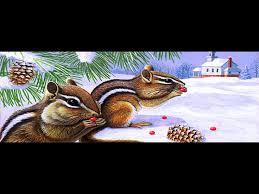 Chipmunk Squirrel Window Mural Tint Decal Custom Tire Covers