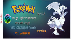Let's Play Pokemon Mega Light Platinum Walkthrough Part 13, MT ...