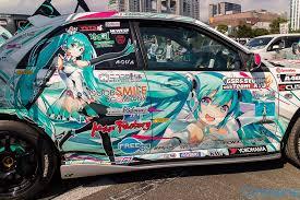 Hatsune Miku Racing Miku Itasha Asa Hatsune Miku Miku Cute Cars