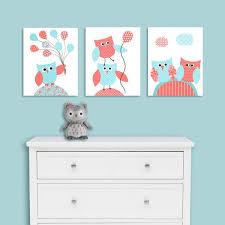 Owl Nursery Decor Nursery Wall Art Owl Nursery Prints Baby Girl Roo Sweetpeanurseryart